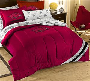 Northwest NCAA Arkansas Full Bed in Bag Set