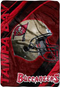 "Northwest NFL Tampa Bay Buccaneers 62""x90"" Throws"