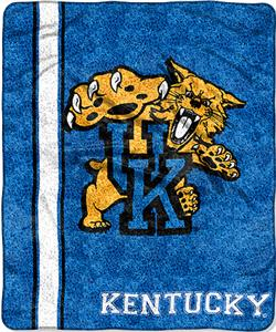 Northwest NCAA Kentucky Jersey Sherpa Throw
