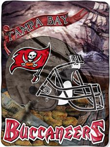 "Northwest NFL Tampa Bay Buccaneers 60""x80"" Throws"