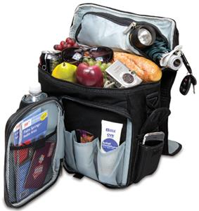 Picnic Time University Illinois Turismo Backpack