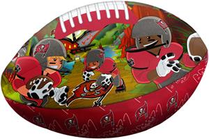 Northwest NFL Tampa Bay Buccaneers Football Pillow
