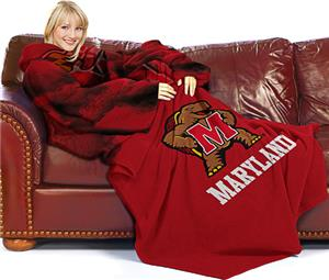 Northwest NCAA Maryland Comfy Throw (Smoke)