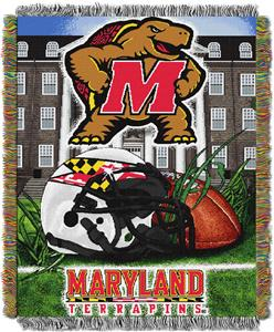 Northwest NCAA Maryland HFA Tapestry Throw