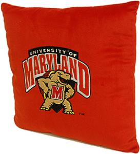 Northwest NCAA University of Maryland Plush Pillow