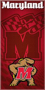 Northwest NCAA University of Maryland Beach Towel