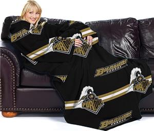 Northwest NCAA Purdue Univ. Comfy Throw (Stripes)