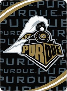 Northwest NCAA Purdue Univ. Fleece Force Throw