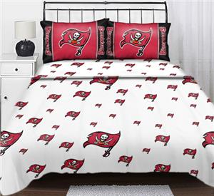 Northwest NFL Tampa Bay Buccaneers Full Sheet Sets