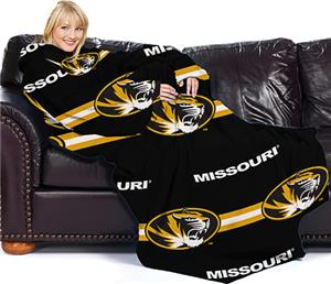 Northwest NCAA Missouri Comfy Throw (Stripes)