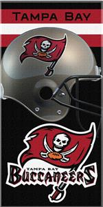 Northwest NFL Tampa Bay Buccaneers Beach Towels