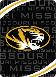 Northwest NCAA Missouri Fleece Force Throw