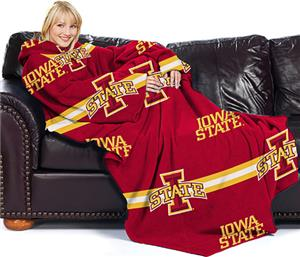 Northwest NCAA Iowa State Comfy Throw (Stripes)
