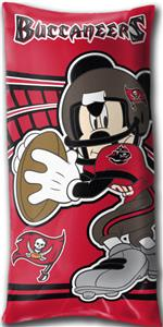 Northwest NFL Tampa Bay Buccaneers Mickey Pillows