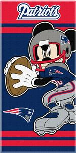 Northwest NFL New England Patriots MM Beach Towels