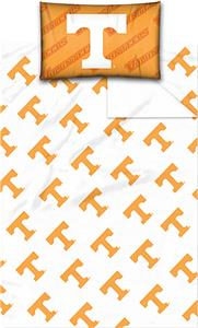 Northwest NCAA Tennessee Twin Sheet Set