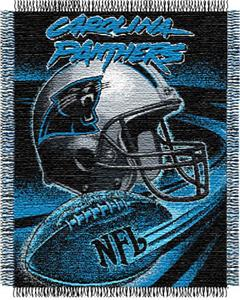 Northwest NFL Carolina Panthers Spiral Throws