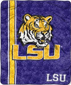Northwest NCAA LSU Jersey Sherpa Throw