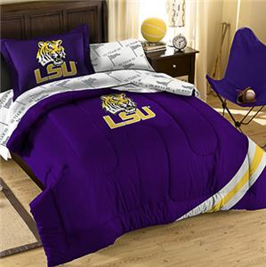 Northwest NCAA LSU Twin Bed in Bag Set