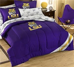 Northwest NCAA LSU Full Bed in Bag Set