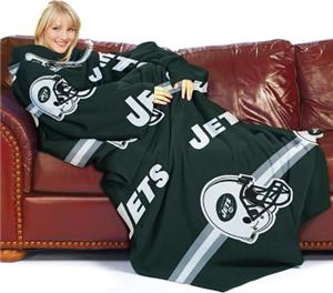 Northwest NFL New York Jets Huddler Throws