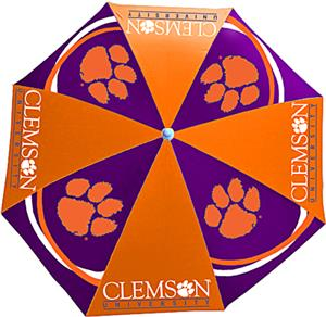 Northwest NCAA Clemson University Beach Umbrella