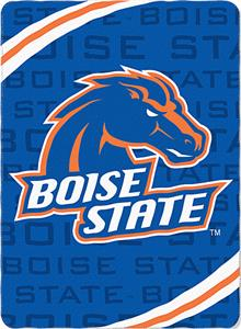 Northwest NCAA Boise State Fleece Force Throw