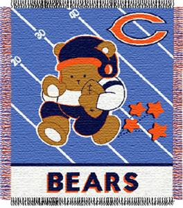 Northwest NFL Chicago Bears Baby Throws