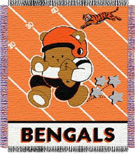 Northwest NFL Cincinnati Bengals Baby Throws