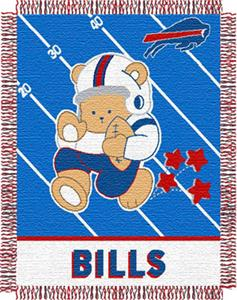 Northwest NFL Buffalo Bills Baby Throws