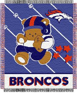 Northwest NFL Denver Broncos Baby Throws