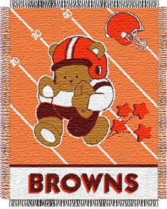 Northwest NFL Cleveland Browns Baby Throws