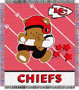 Northwest NFL Kansas City Chiefs Baby Throws