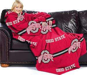 Northwest NCAA Ohio State Comfy Throw (Stripes)