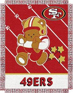 Northwest NFL San Francisco 49ers Baby Throws