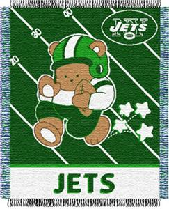 Northwest NFL New York Jets Baby Throws