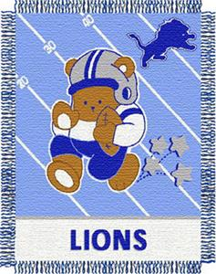Northwest NFL Detroit Lions Baby Throws