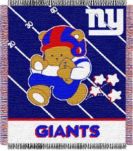 Northwest NFL New York Giants Baby Throws
