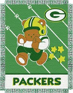Northwest NFL Green Bay Packers Baby Throws