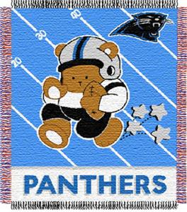Northwest NFL Carolina Panthers Baby Throws