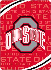 Northwest NCAA Ohio State Fleece Force Throw