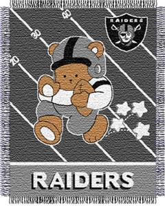 Northwest NFL Oakland Raiders Baby Throws