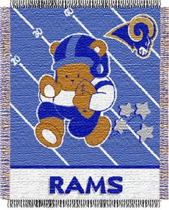 Northwest NFL St. Louis Rams Baby Throws