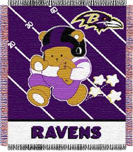 Northwest NFL Baltimore Ravens Baby Throws