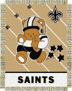 Northwest NFL New Orleans Saints Baby Throws