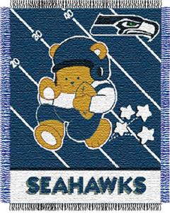 Northwest NFL Seattle Seahawks Baby Throws