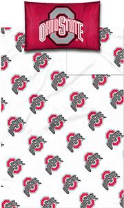 Northwest NCAA Ohio State Univ. Twin Sheet Set