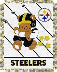 Northwest NFL Pittsburgh Steelers Baby Throws