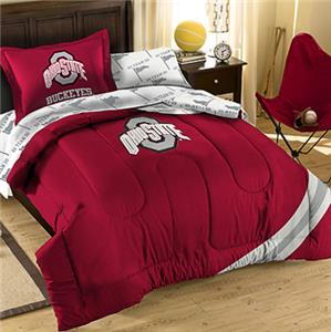 Northwest NCAA Ohio State Univ Twin Bed in Bag Set