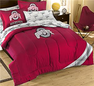 Northwest NCAA Ohio State Full Bed in Bag Set